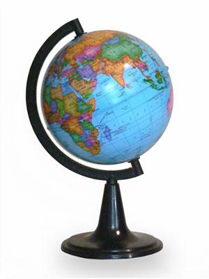 Глобус Земли политический (диаметр 120 мм)