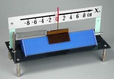 Прибор для демонстрации механических колебаний