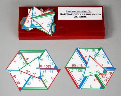 """Математические пирамиды """"Деление"""""""