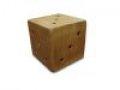 Куб деревянный большой
