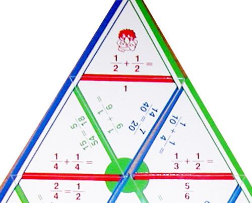 Математические пирамиды Дроби