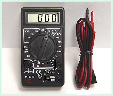 Мультиметр цифровой М830
