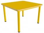Стол детский квадратный, нерегулируемый по высоте (р.гр.№0, 1, 2, 3)
