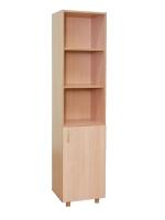 Шкаф для учебных пособий узкий