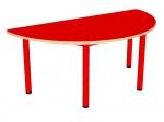Стол игровой полукруглый, нерегулируемый по высоте (р.гр.№0, 1, 2, 3)