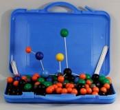 Комплект моделей атомов для составления объемных моделей молекул со стержнями демонстрационный