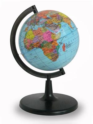 Глобус Земли политический (диаметр 150 мм)