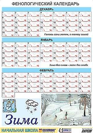 Фенологический календарь
