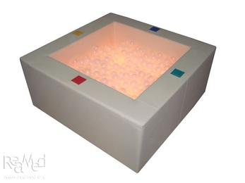 Интерактивный сухой бассейн с кнопками-переключателями