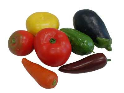 Набор муляжей Овощи