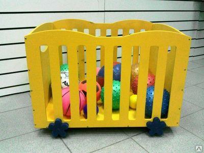 Контейнер для хранения мячей передвижной